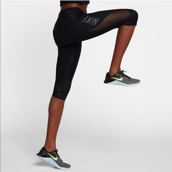 1fb1613dab4313 Nike Power Legend Mid Rise Capri Leggings. M_5bf3a337c9bf509b942fc588